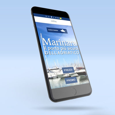 Marinara Porto Turistico Web Design