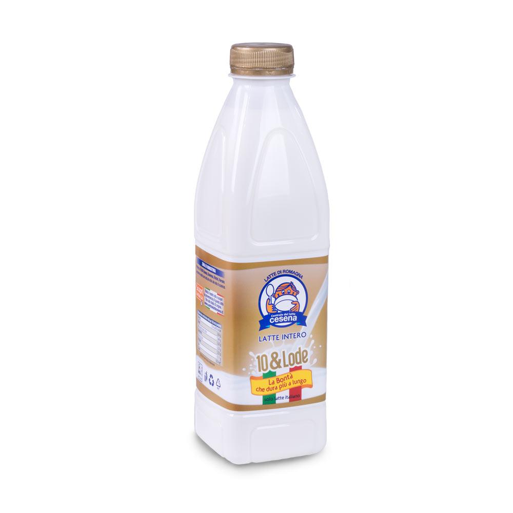 Latte sfondo bianco centrale latte cesena