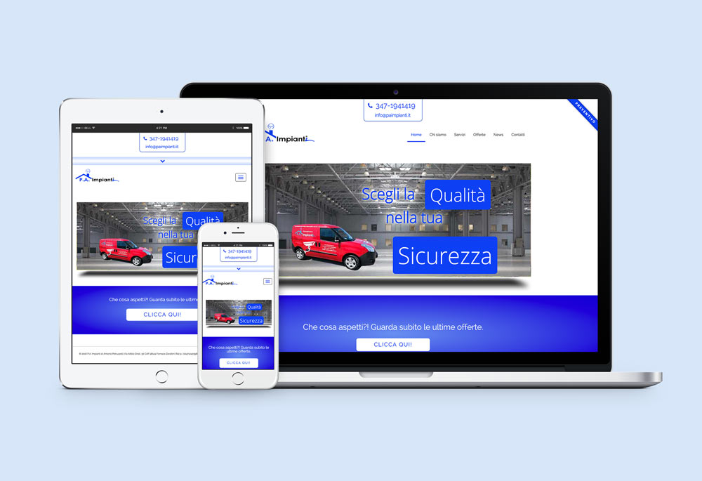 P.A. Impianti web-design